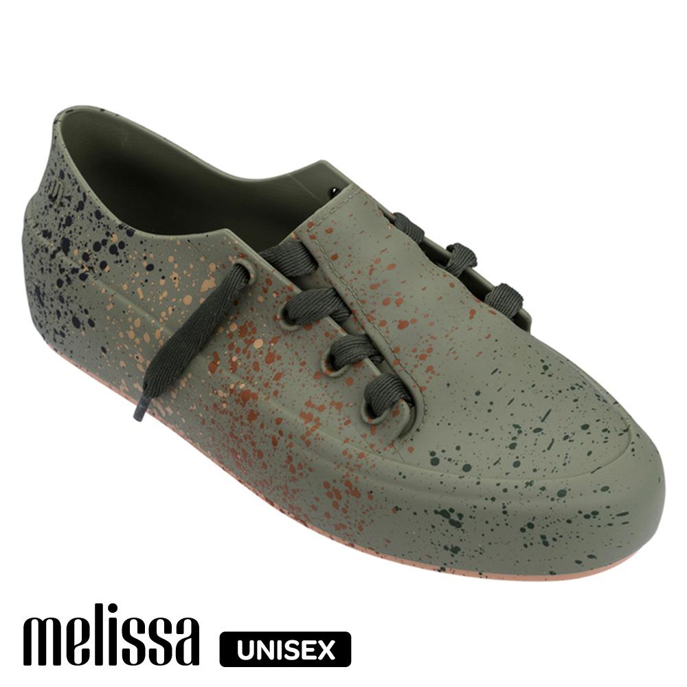 Melissa 潮流Sneaker 綁帶休閒鞋-綠