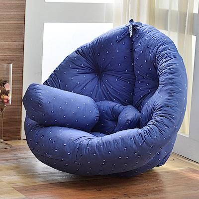 [時時樂限定]Mushroom日風蘑菇懶骨頭沙發(下單送一顆小抱枕)