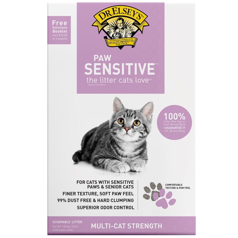 Dr.Elsey's貓艾歐|貓砂-柔嫩粉-SENSITIVE細緻觸感-20LB