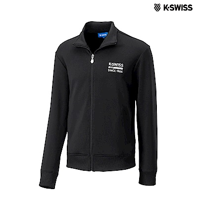 K-SWISS Retro Jacket運動外套-男-黑