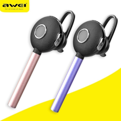 【AWEI】雙待機單耳藍牙耳機(A825BL)