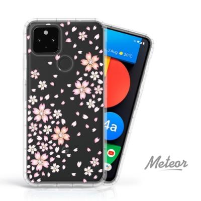 Meteor Google Pixel 4a 5G 奧地利水鑽殼 - 櫻花