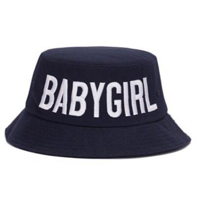米蘭精品 遮陽防曬漁夫帽-BABYGIRL刺繡情人節生日禮物男女帽子3色73db16
