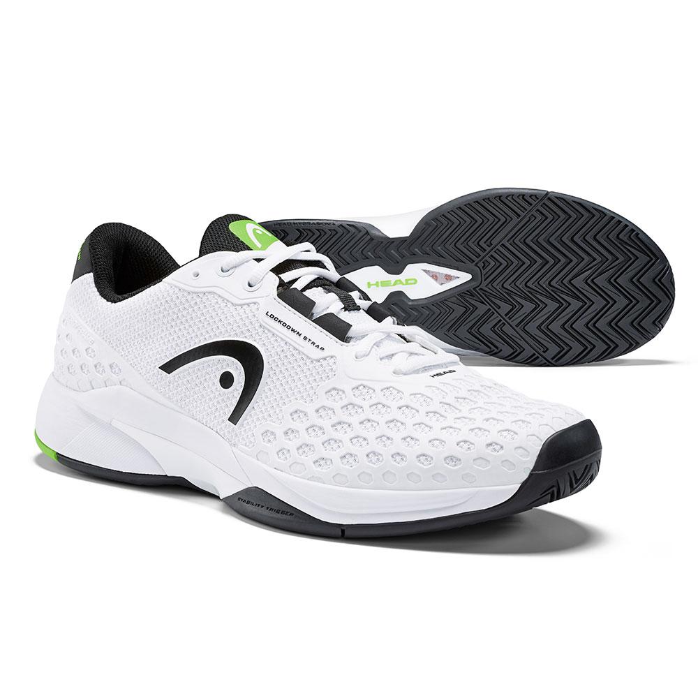 HEAD奧地利 Revolt Pro 3.0 男網球鞋-白/黑 273029