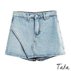 A字牛仔短褲裙