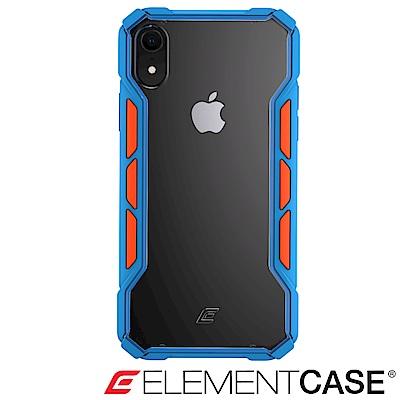 美國 ELEMENT CASE iPhone XR 專用拉力競賽防摔殼 -藍/橘