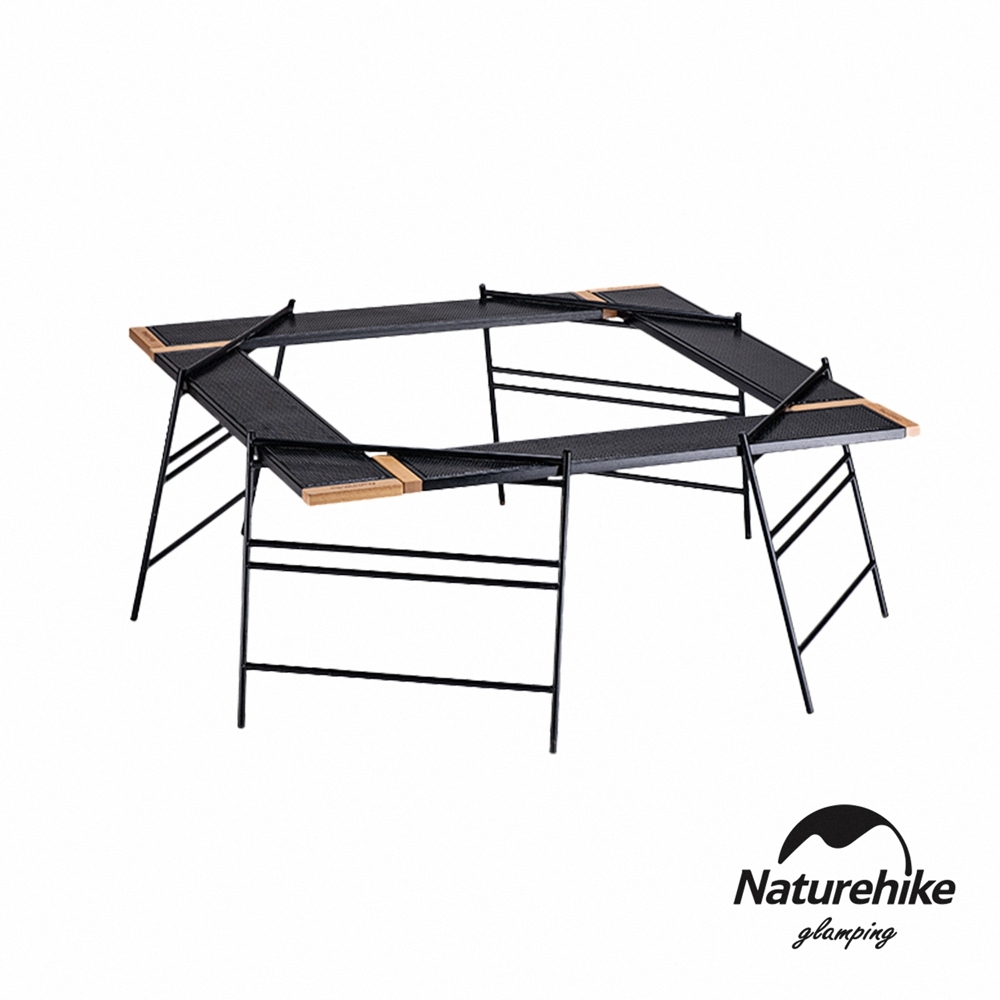Naturehike 趣野 戶外多功能拼接野營桌(附收納袋)-急