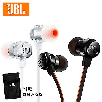 (送收納袋)JBL - T280A+ 鈦振膜立體聲入耳式耳機