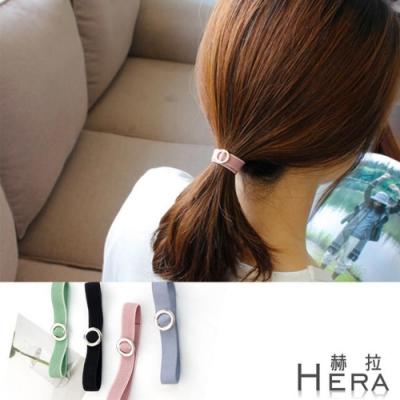 Hera赫拉 金屬圓圈手鍊式髮圈/髮束/3入組隨機
