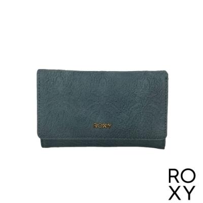 【ROXY】CRAZY DIAMOND 錢包 藍色