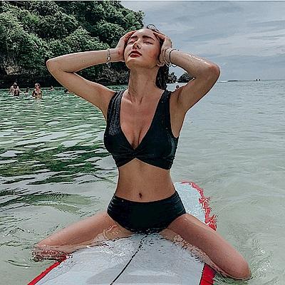 Biki比基尼妮泳衣 心攸性感二件式泳衣泳裝比基尼(M-XL)