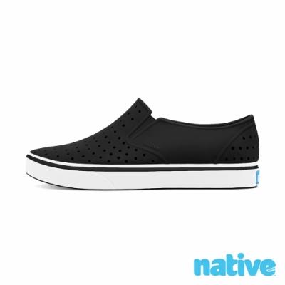 native 大童鞋 MILES 小邁斯鞋-瞬黑x貝殼白