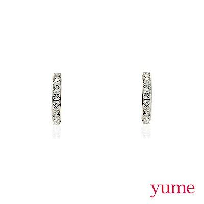 YUME - K金小環形耳環
