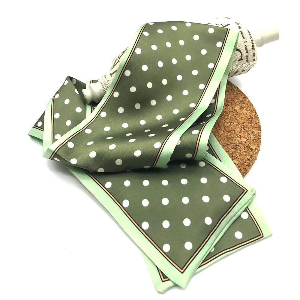 Hera 赫拉 時尚模範多功用百變絲質小圍巾/小領巾-3款