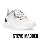 STEVE MADDEN-ANTONIA 潮流前鋒時尚老爹鞋-蛇紋白色