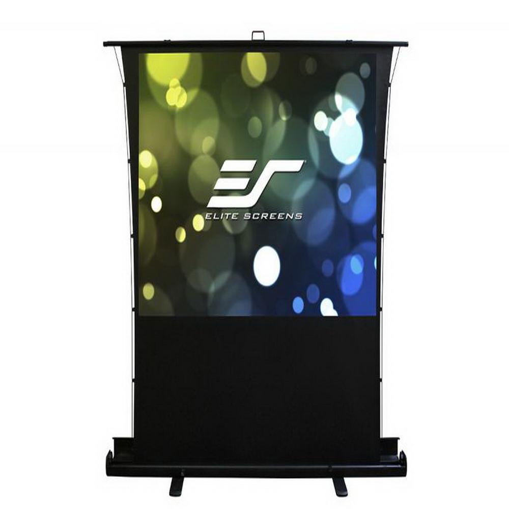 Elite Screens 億立銀幕 80吋 16:9 高級款(氣壓)地拉張力幕 -isf認證霧白 FT80XWH