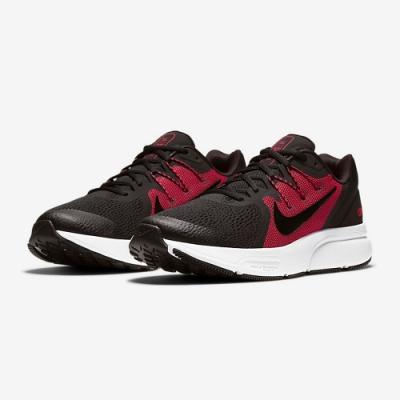 NIKE 慢跑鞋 緩震 訓練 健身 運動鞋 男鞋 黑紅 CQ9269-005 NIKE ZOOM SPAN 3