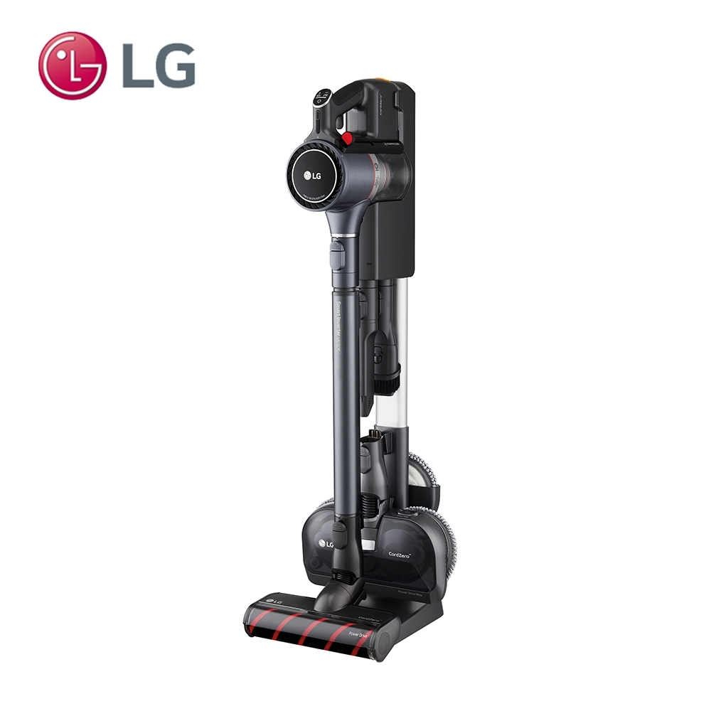 LG樂金 A9K-MAX2 (寂靜灰) WIFI無線濕拖吸塵器