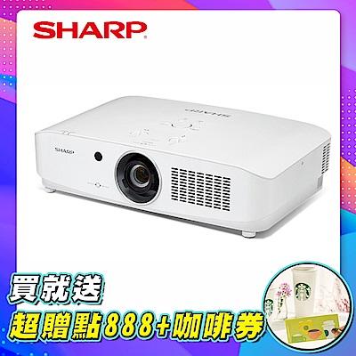 SHARP 夏普 PG-CA60X [XGA,6000流明] 全封閉雷射投影機