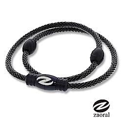 Zaoral甦活磁石項圈(黑.黑)-L/M