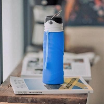仁舟淨塑 捲捲矽光瓶750ml-湛海藍