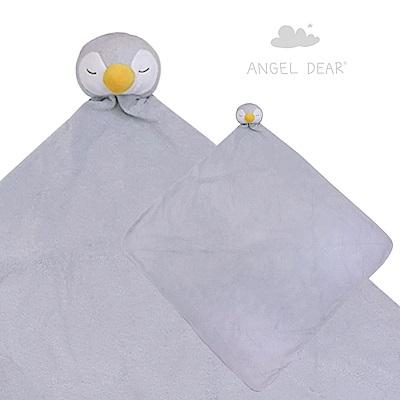 美國 Angel Dear 大頭動物嬰兒毛毯禮盒版 (小企鵝)