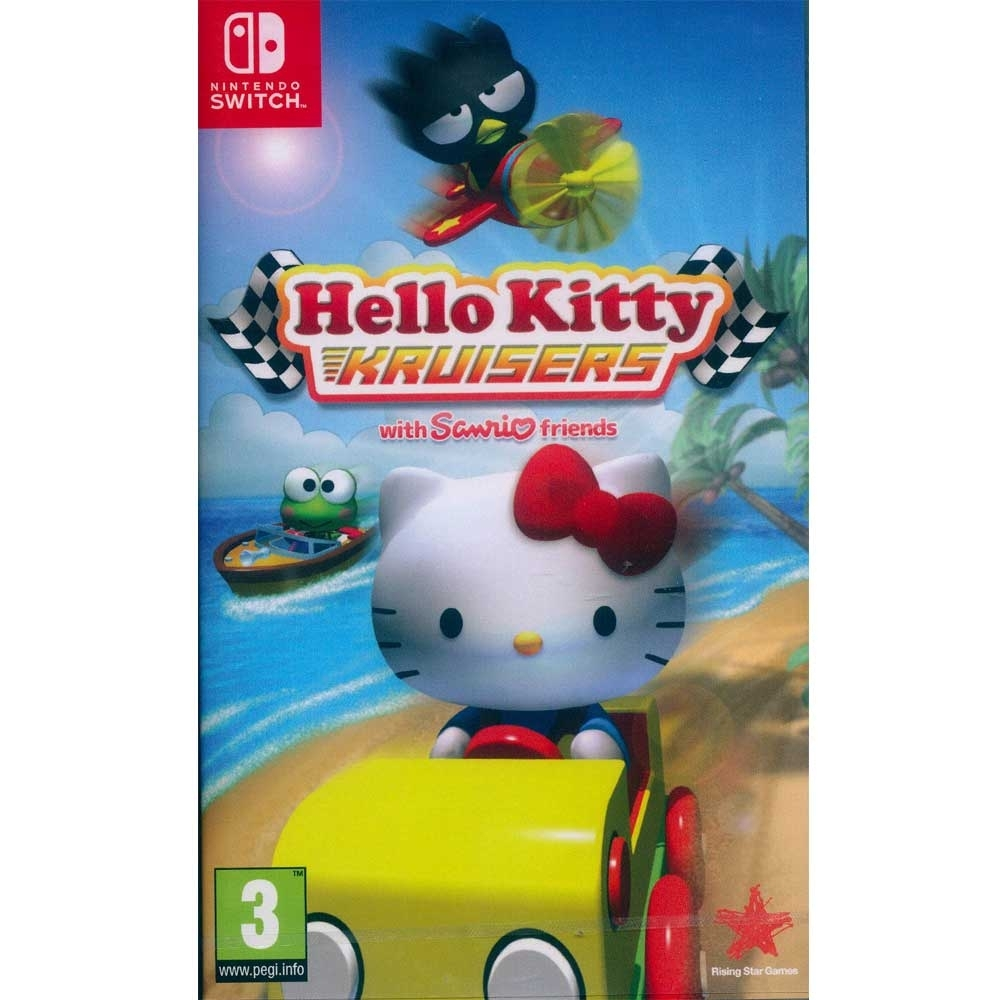 Hello Kitty 愛競速 Hello Kitty Kruisers with Sanrio Friends - NS Switch 英文歐版
