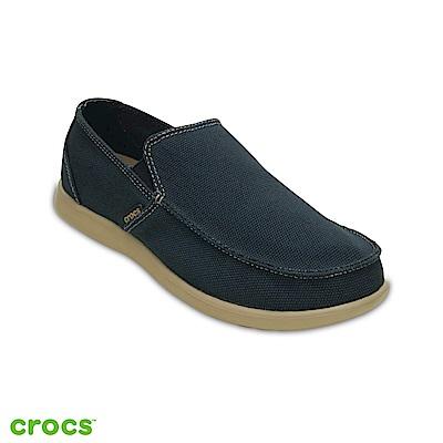 Crocs 卡駱馳 (男鞋) 聖克魯茲簡約樂福鞋 202972-4BM