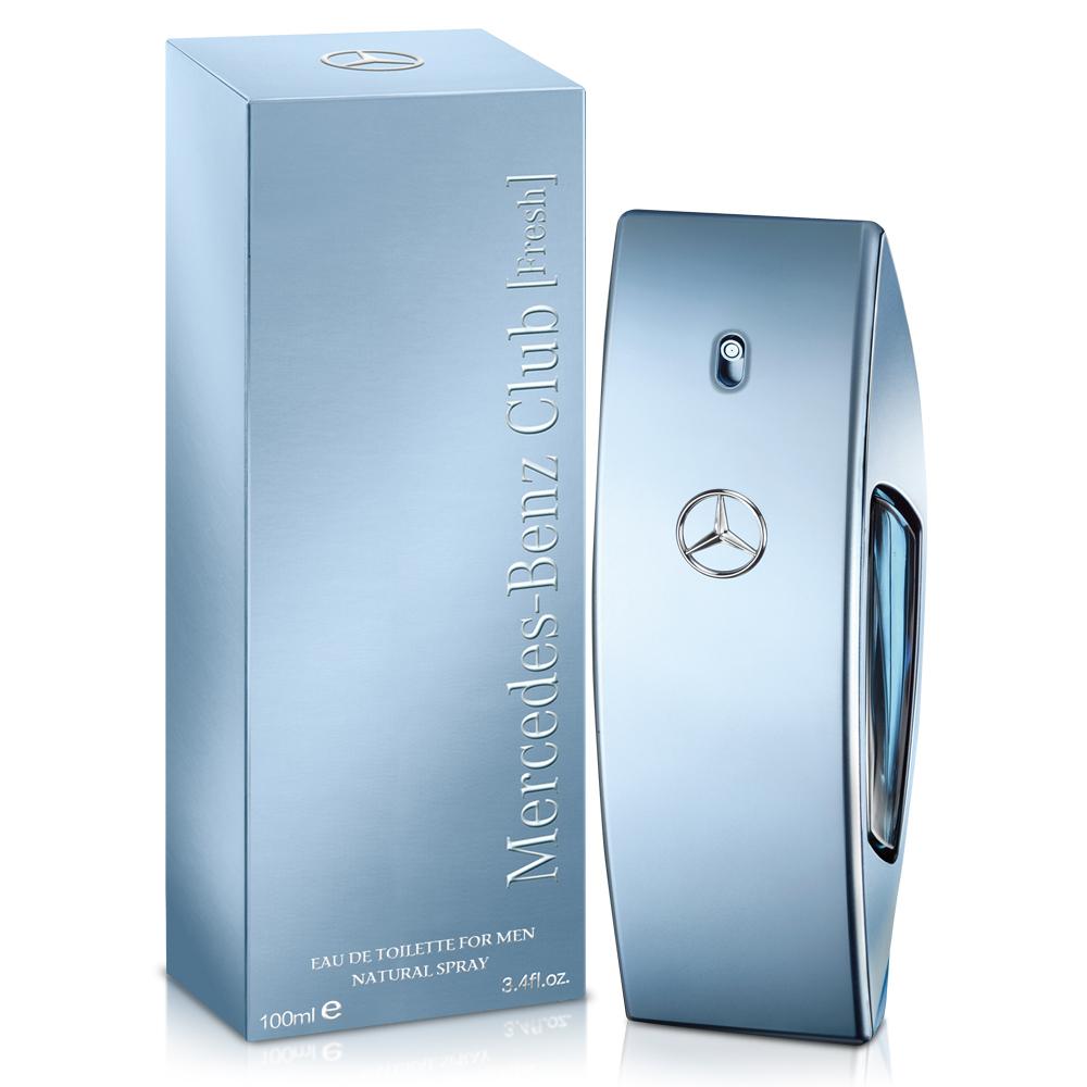 Mercedes Benz 賓士 自由藍調男性淡香水100ml-送沐浴精