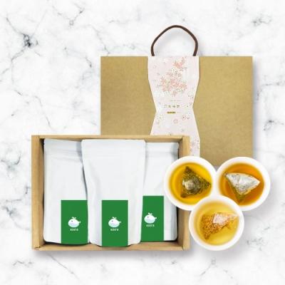 KOOS-綜合口味-蕎麥茶+桂花烏龍+金萱烏龍-禮盒組1盒(3袋1盒)