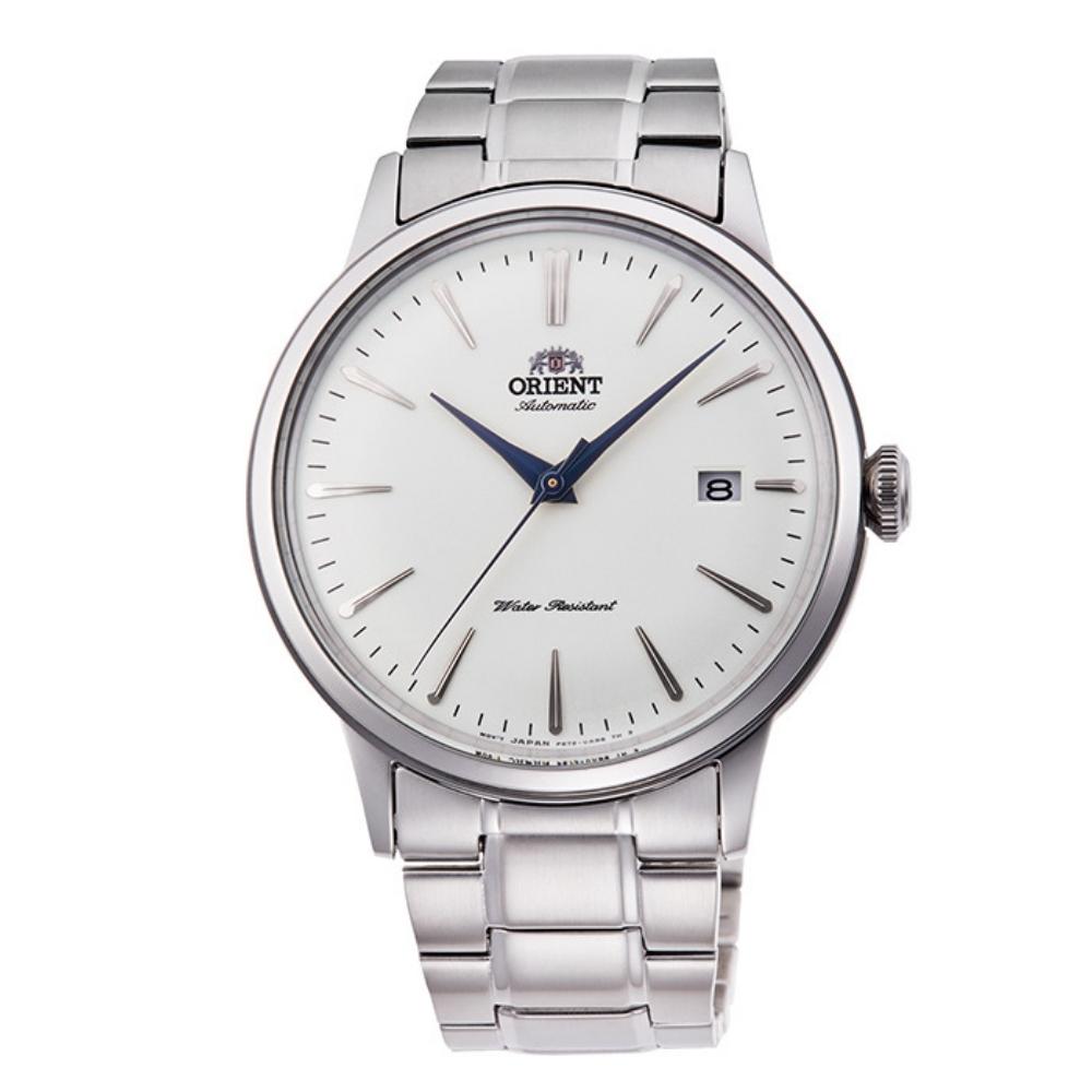 ORIENT 東方錶 復古巨蛋型球面玻璃 機械錶(RA-AC0005S)白/40.5mm