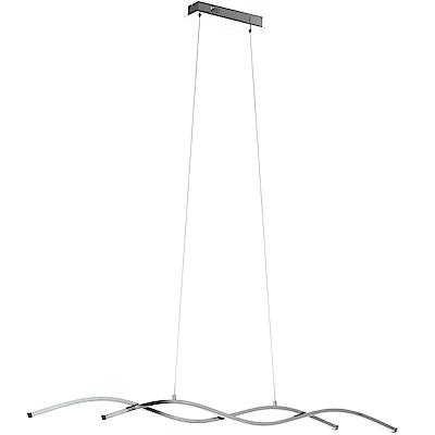 EGLO歐風燈飾 現代波浪曲線雙燈式吊燈