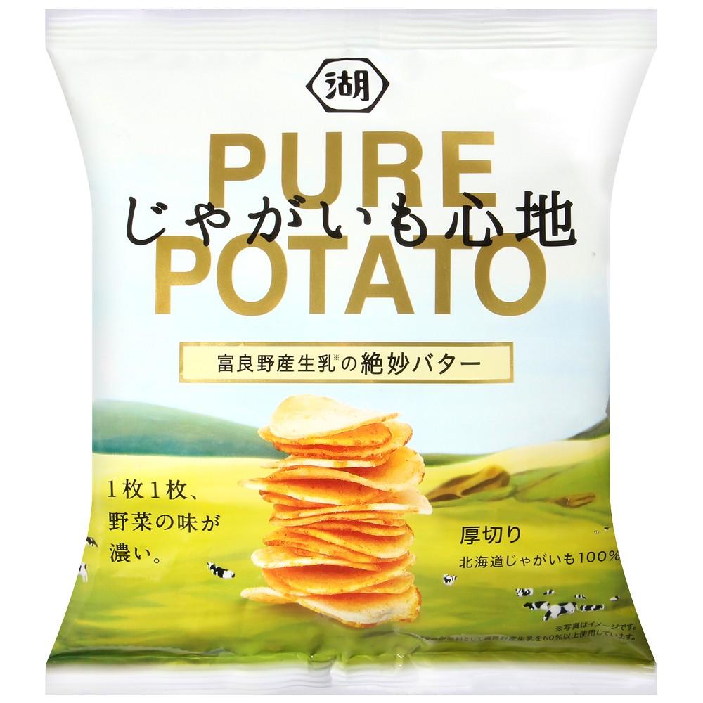 湖池屋 PURE POTATO奶油風味薯片(58g)