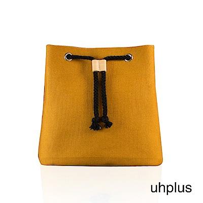 uhplus 簡約輕巧水桶包(土黃)