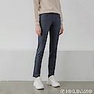 GIORDANO女裝中腰標準窄管休閒褲-08冷灰