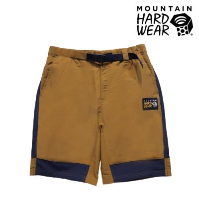 【美國 Mountain Hardwear】MHW Camp 4 Short 日系款防潑水快乾短褲 男款 金棕 #OE1486