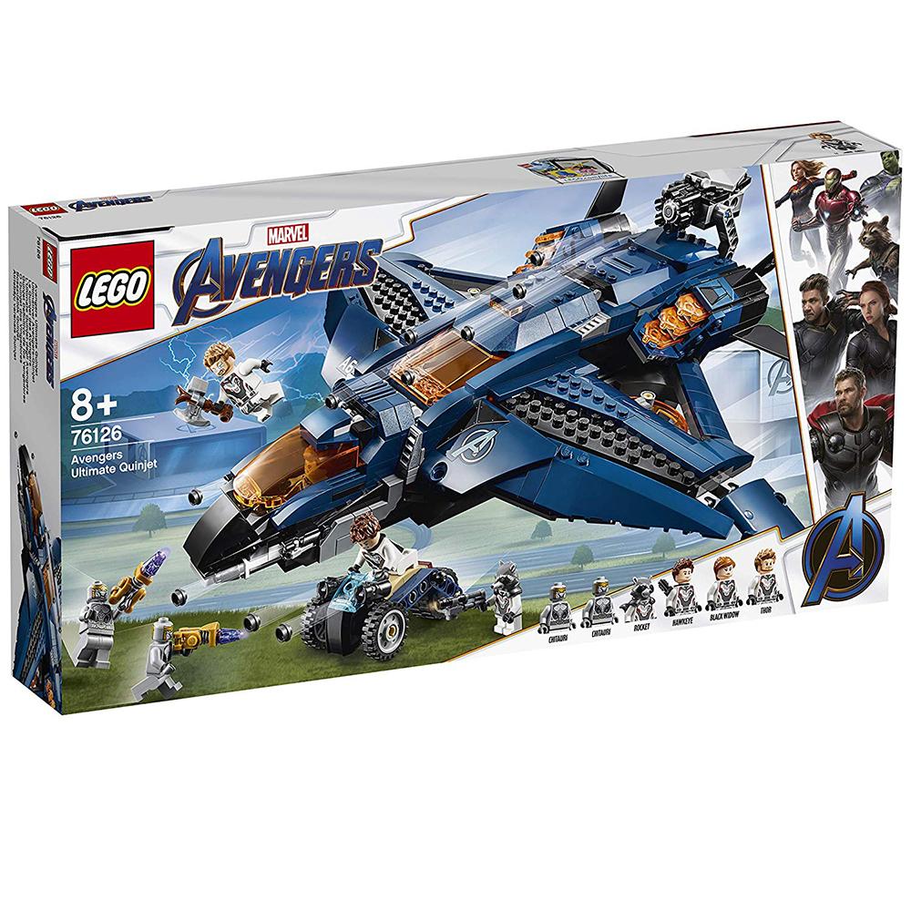 樂高LEGO 超級英雄系列 - LT76126Avengers Ultimate Qui