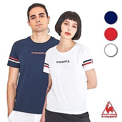法國公雞牌短袖T恤 LON23803-中性-多色