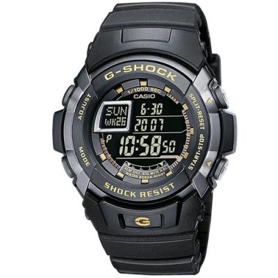 CASIO G-SHOCK悍將運動/時尚休閒指針/槍魚系列黑水鬼風格錶(款式任選)