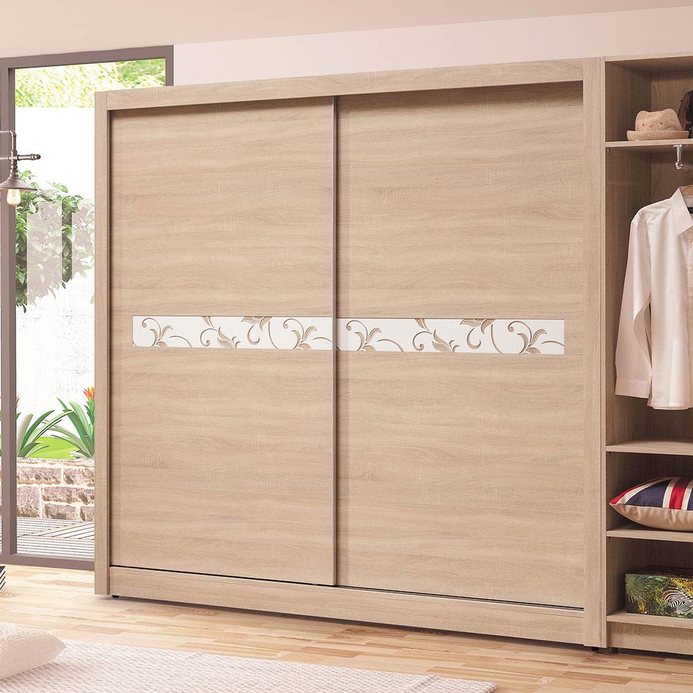 H&D 原切橡木7尺衣櫥