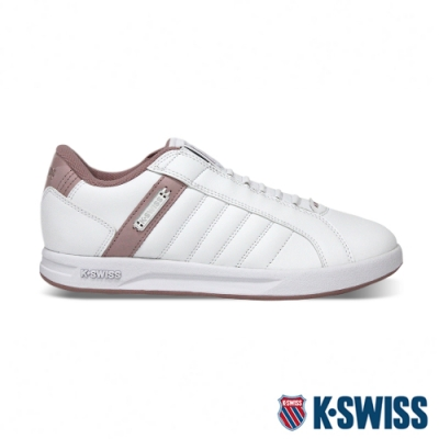 K-SWISS Lundahl Slip-On S 鞋套式運動鞋-女-白/粉紅