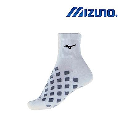 MIZUNO 美津濃 女運動厚底短襪 5入 白X黑 32TX880209