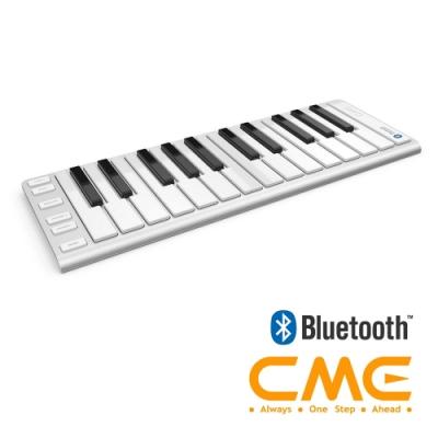 CME XKey Air 25 無線藍牙MIDI鍵盤控制器(25鍵) 銀
