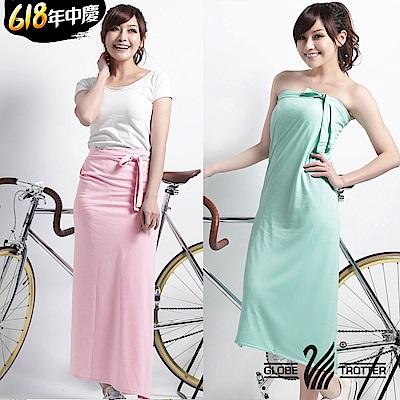 時時樂【遊遍天下】MIT涼感抗UV吸排多功能一片裙(加大尺碼)多色