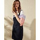CACO-斜紋吊帶短裙(兩色)-女【TAR056】