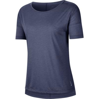 NIKE 短袖 上衣 休閒 瑜珈 運動 女款 藍 CJ9327491 AS W NK DRY LAYER SS TOP