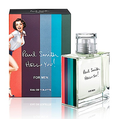 Paul Smith HELLO YOU男性淡香水 50ml