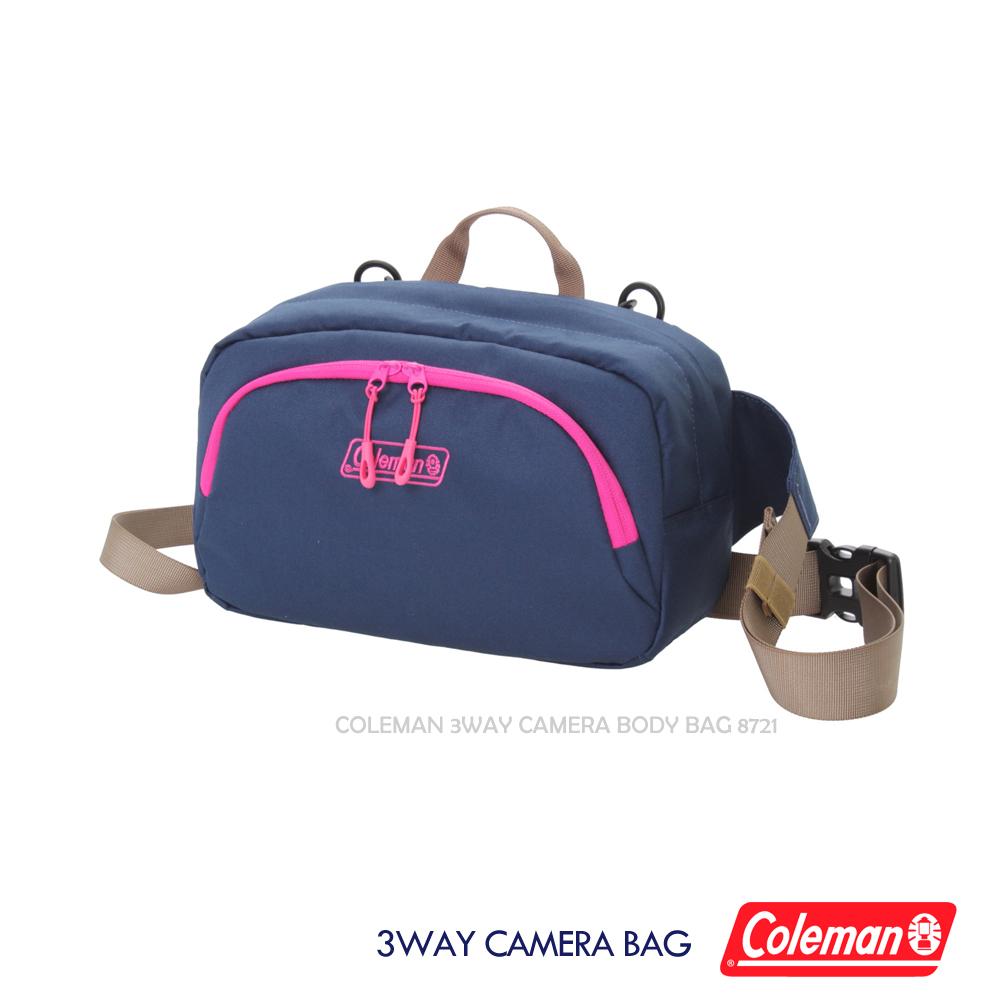 (促) Coleman 三用相機背包(海軍藍)3 Way Camera Body Bag