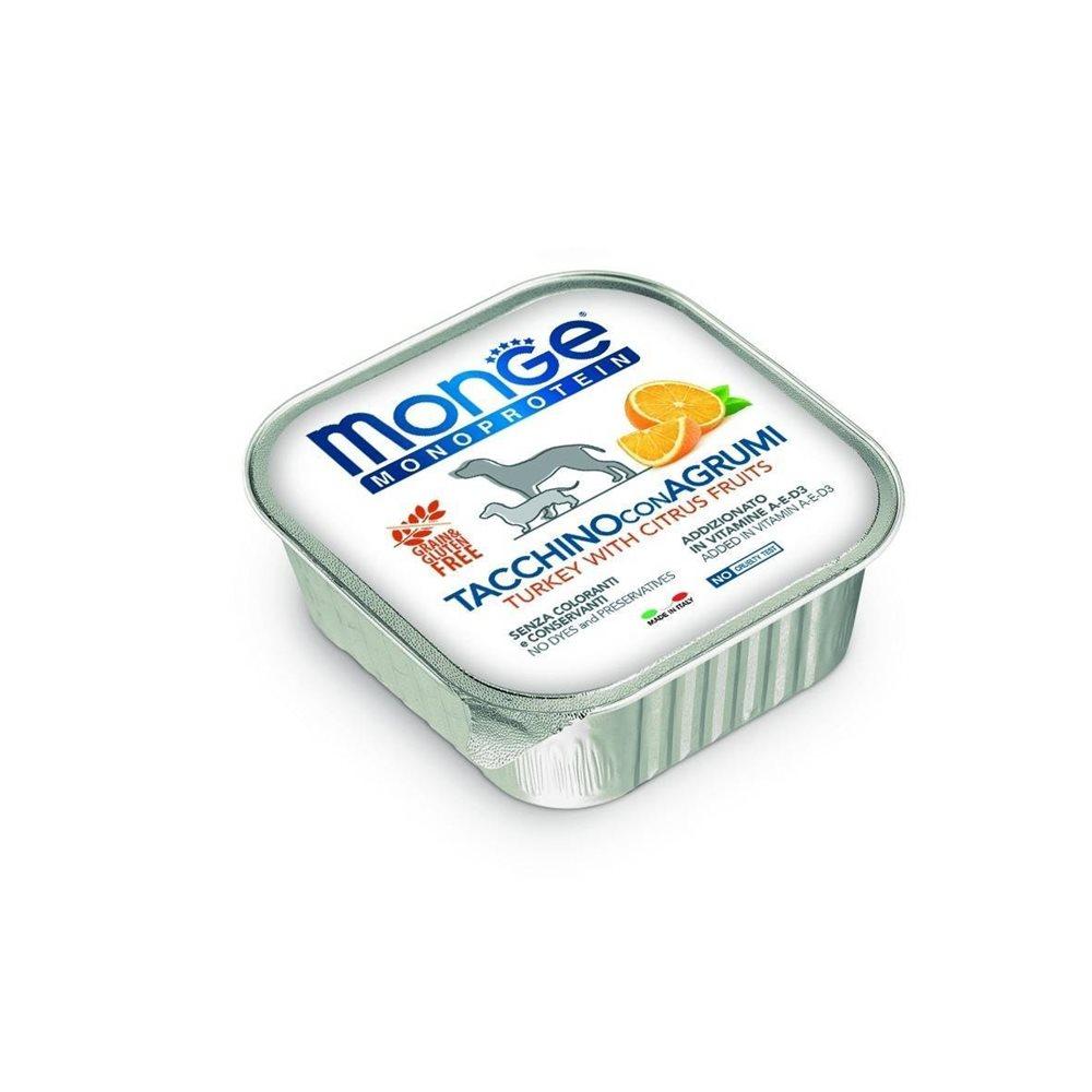Monge 頂級義大利系列無榖水果肉醬狗餐盒 150g