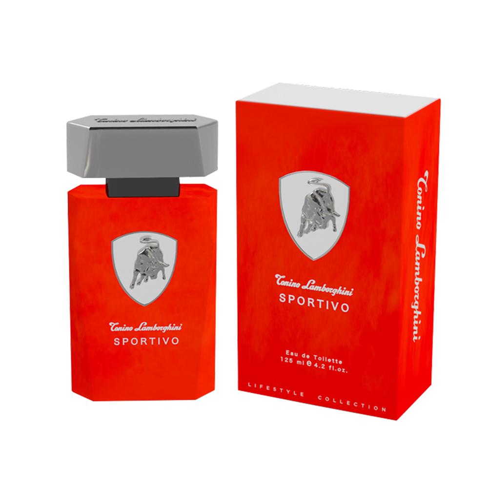 Lamborghini Sportivo紅牛能量男性淡香水125ml